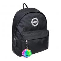 HYPE RAINBOW POM POM BACKPACK