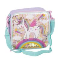 Polar Gear Good Glitter Unicorn Lunch Bag