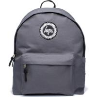 HYPE CHARCOAL BADGE BACKPACK