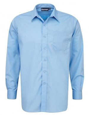 Boys Blue Long Sleeve Shirts
