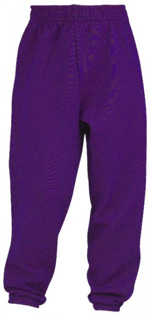 Purple Jogging Bottoms