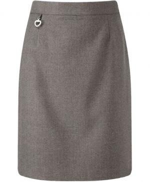 Banner Amber A Line Junior Skirt Grey