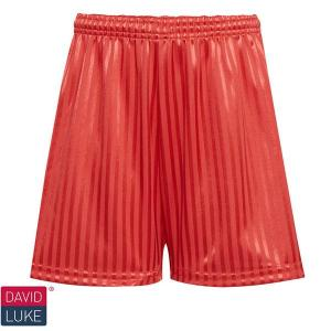 Red Shadow Stripe Shorts