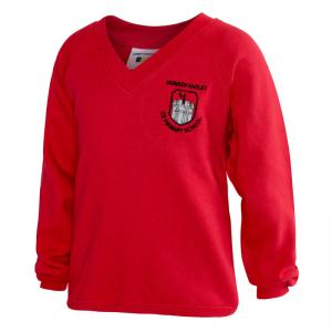 Monken Hadley V Neck Sweatshirt