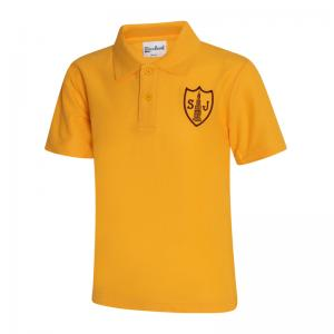 St Joseph's Gold Polo Shirt