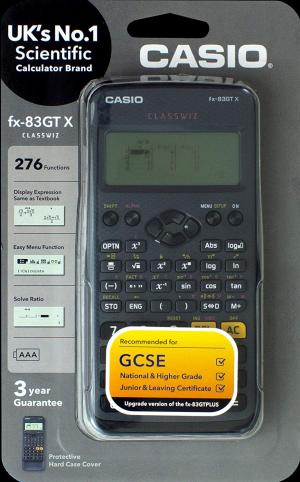 Casio Scientific Calculator Black - FX83GTX