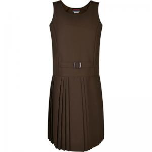 Innovation False Belt Pinafore Brown