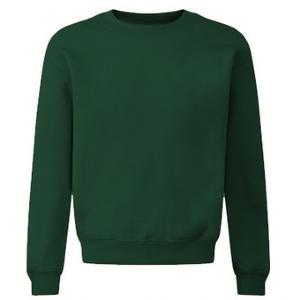 Bottle Plain Crew Neck Sweatshirt