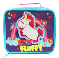 DM Fluffy Rectangular Lunch Bag