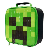 Minecraft Cubic Lunch Bag