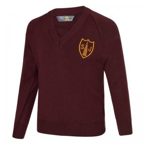 St Joseph's V Neck Jumper