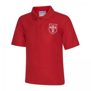 St Michael's Red Polo