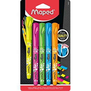 Maped Fluo Peps Connect Highlighters