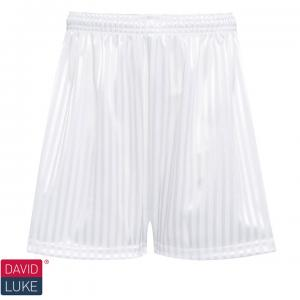 White Shadow Stripe Shorts