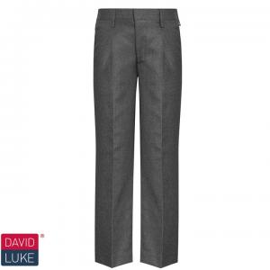 Grey David Luke Boys Junior Trousers