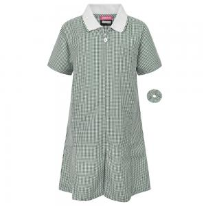 Zeco Gingham Summer Dress Bottle