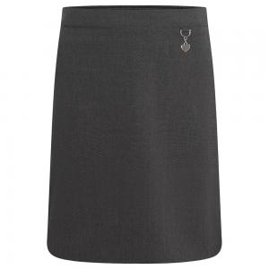 Zeco Lycra Heart Skirt Grey
