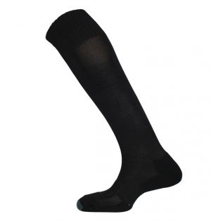 Black Football Socks