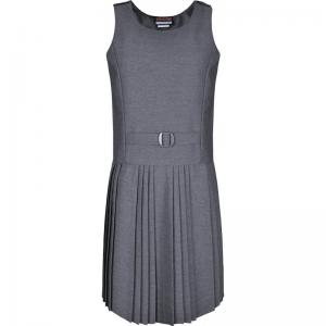 Innovation False Belt Pinafore Grey