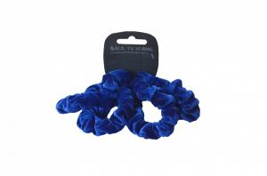 WT Velvet Scrunchie Royal
